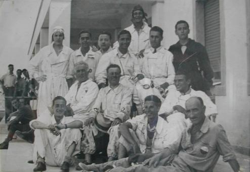 Descrizione: membri fondatori aeroclub firenze